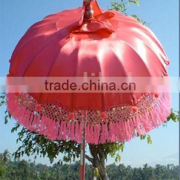 Pink Color Bali Style Patio Umbrellas for Sale