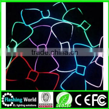 High brightness China factory OEM light up flashing bow tie