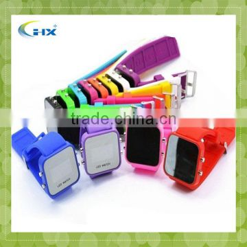 Custom Silicone Watches/ Silicone Led Watch/silione Watches