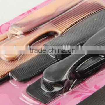 16PC Combined type plastic hair brush/comb