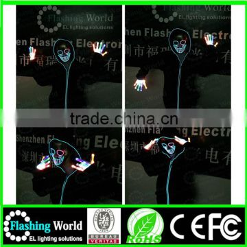 usa flashing Interesting Vedio music actived factory wholesale flashing el wire sunglasses