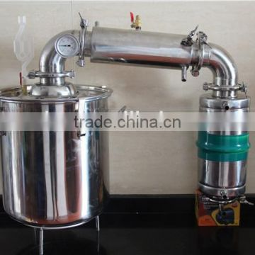 2015 New Large Capacity! Stainless Steel Home Alcohol Distiller 65L Wine Brewing Device Spirits Alcohol Distillation Boiler