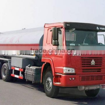HOWO Chinese Sinotruk new 10wheels oil tank truck 20L Sinotruk