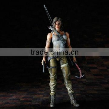 Realistic Female action figures, Plastic adult action figure,Custom female action figure factory