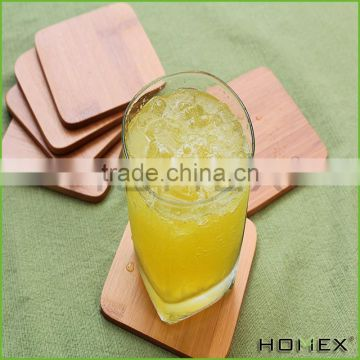 Bamboo coaster set,coaster for any drink Homex-BSCI