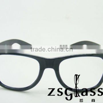 Fashion cheap promotion sunglasses/ factory design full color mirror glasses printing logo/spectacles/transparent lens glass