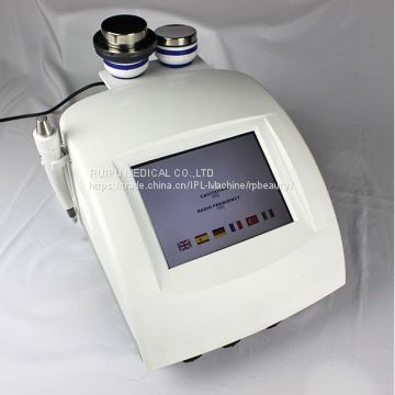 Portable Cavitation fitness slimming RF skin tightening beauty device