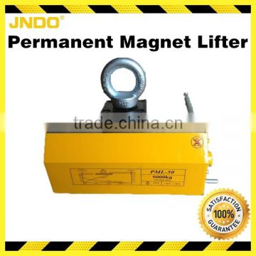 Powerful 5000kg permanent magnet lifter with high safety factor