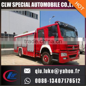 water tank foam tank low price fire fighting truck for sale