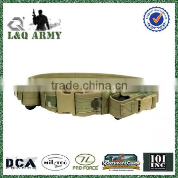 Military Tactical Belt With Magazine Pouches