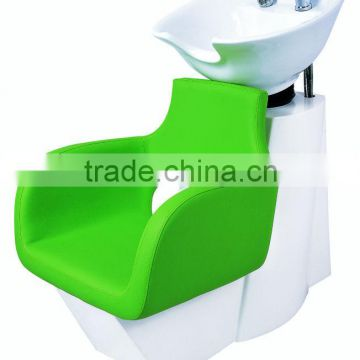 green color shampoo bowl chairs