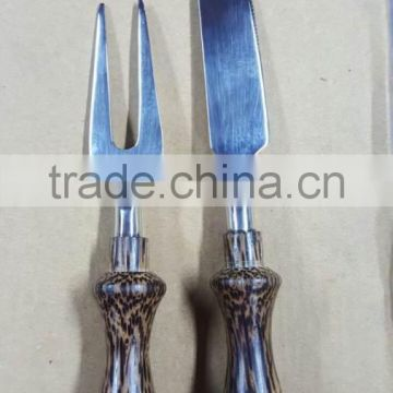 stainless steel new handle design cutlery