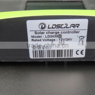 30A solar controller for off frid solar system