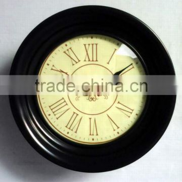 Fashion hanging round wall clock for decoration