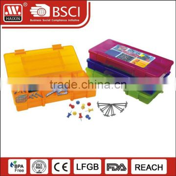 Hot customized color PP plastic storage box for screws