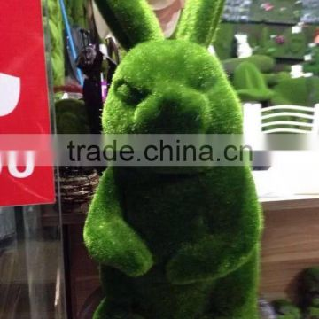 Home and Garden easy Shopping decorative 20cm Height artificial green grass Moss Bunny easter Rabbit E10 26T02