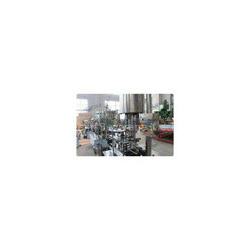 Stainless Steel Linear Filling Machine CSD Bottle Automatic Capping Machine