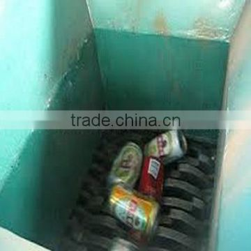 Metal can crusher recycling machine
