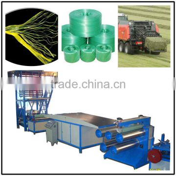 Agricultural Packing Baler Rope Twine Making Machine/tearing film making machine/PP,PE tearing film production line