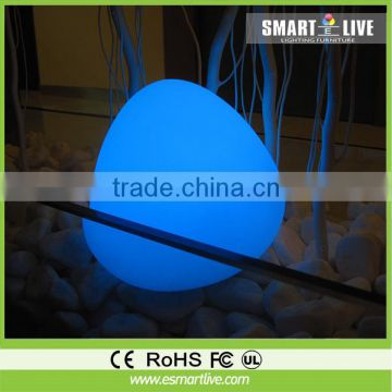 Magic Outdoor led glow swimming pool ball with 16 colors