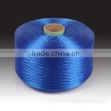 High Strength 600D PP yarn Black color for weaving in low price