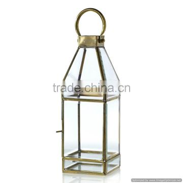 glass art elegant lantern