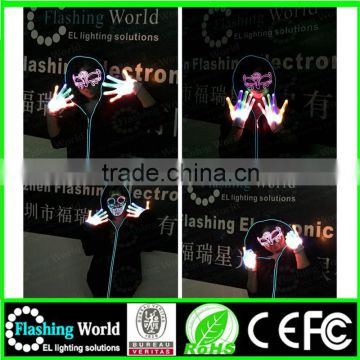 China factory OEM high quality factory manufacture Christmas sound activated mask