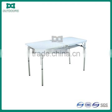 Outdoor aluminum stainless steel folding table