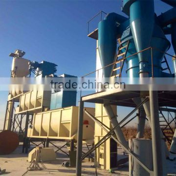 Three grade lime slaker machine for slaking of quick lime into calcium hydroxide production