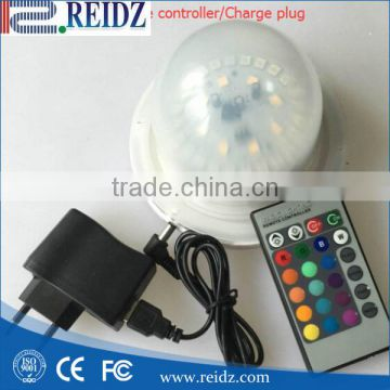 Powerful Rechargeable battery powered RGBW wireless remote control led base light
