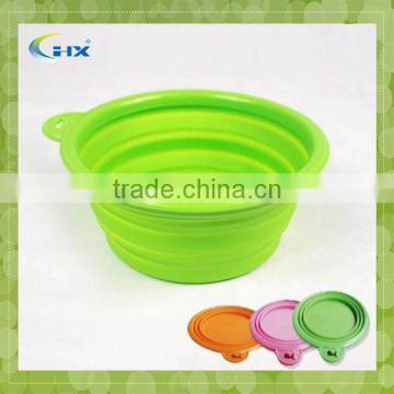 Top Grade Best Sell Foldable Silicone Dog Bowl
