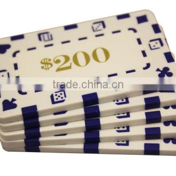 Rectangle Casino Chips