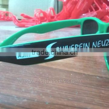 logo on lenses sun glasses Supplier