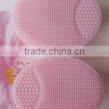 Silicone Facial brush Disk scrub eco-friendly,facial massage,promotion