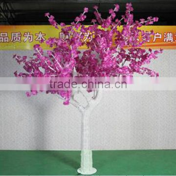 led christmas decoration 230cm Height outdoor artificial cyan with pink flashing solar trees garden light EDS06 1420