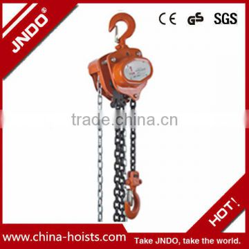 1 t 2t 3t 5t manual chain block hoists manufacturer in China