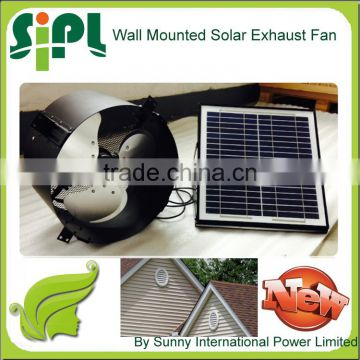 Vent tool Solar Wall Ventilating Fan with Brushless DC Fan Motor prices industrial exhaust fans