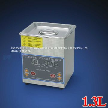 1.3L 60W Mini desktop ultrasonic cleaner for household