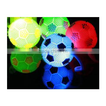 Flashing super duper clitter balls; Bouncing ball with roap; Best selling toys for entertainment; Bouncing ball with handles