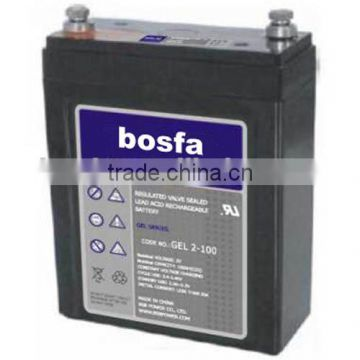 2v100ah china manufacture battery with iso 48 volt battery
