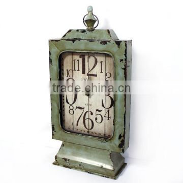 2014 New metal table clock