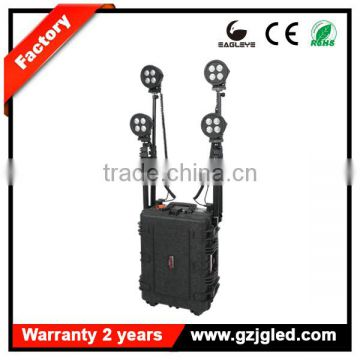 Portable Guangzhou emergency response lighting 160w remote area outdoor light RLS58-160WF