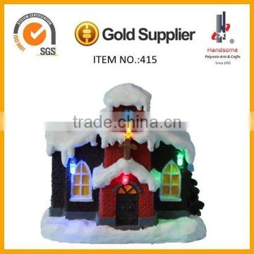 2015 new product christmas gifts christmas snow house ,Christmas decorations
