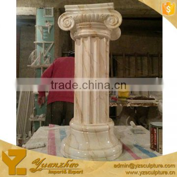 Natural Stone Column for garden decoration
