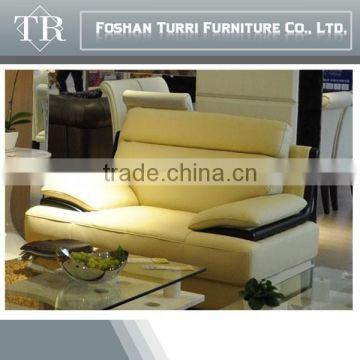 high qulity italian geniune leather corner sofa for living room
