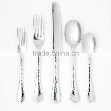 silver plated cutlery for restaurant