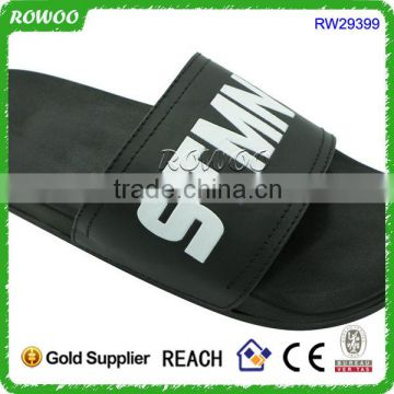 Home/Hotel use Customized Printing Logo Man slipper