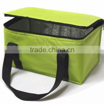 custom 600D polyester thermal insulated cooler bag with customer's logo