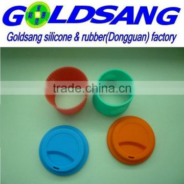 colorful silicone cup cover &non-slip hot resistant