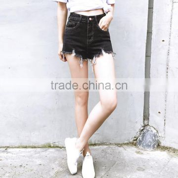 Jeans women 2017 top quality denim washed sexy denim shorts summer for women
